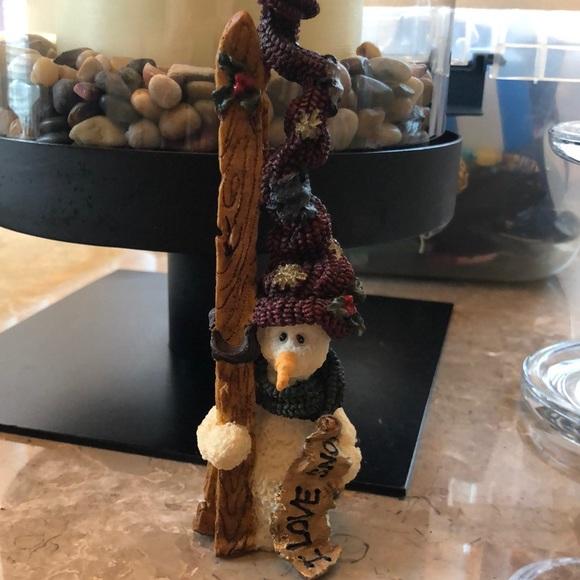 Vintage Boyd's Bear Resin Snowman